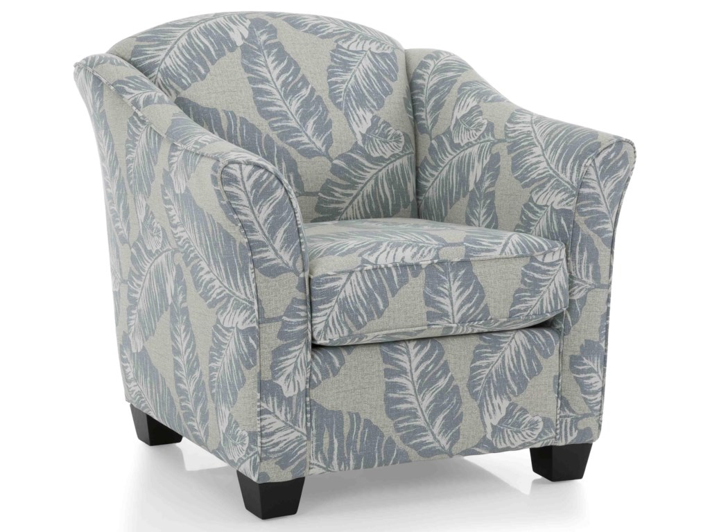 Taelor Designs 2118Chelset Pewter Occasional Chair