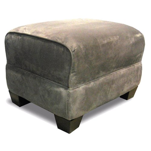 Decor-Rest 2118 Ottoman with Exposed Feet