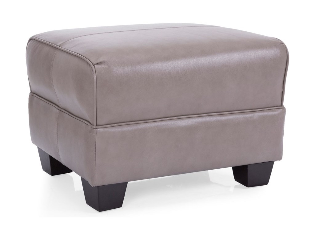 Decor Rest 3118 Ottoman With Exposed Feet Wayside Furniture Ottomans