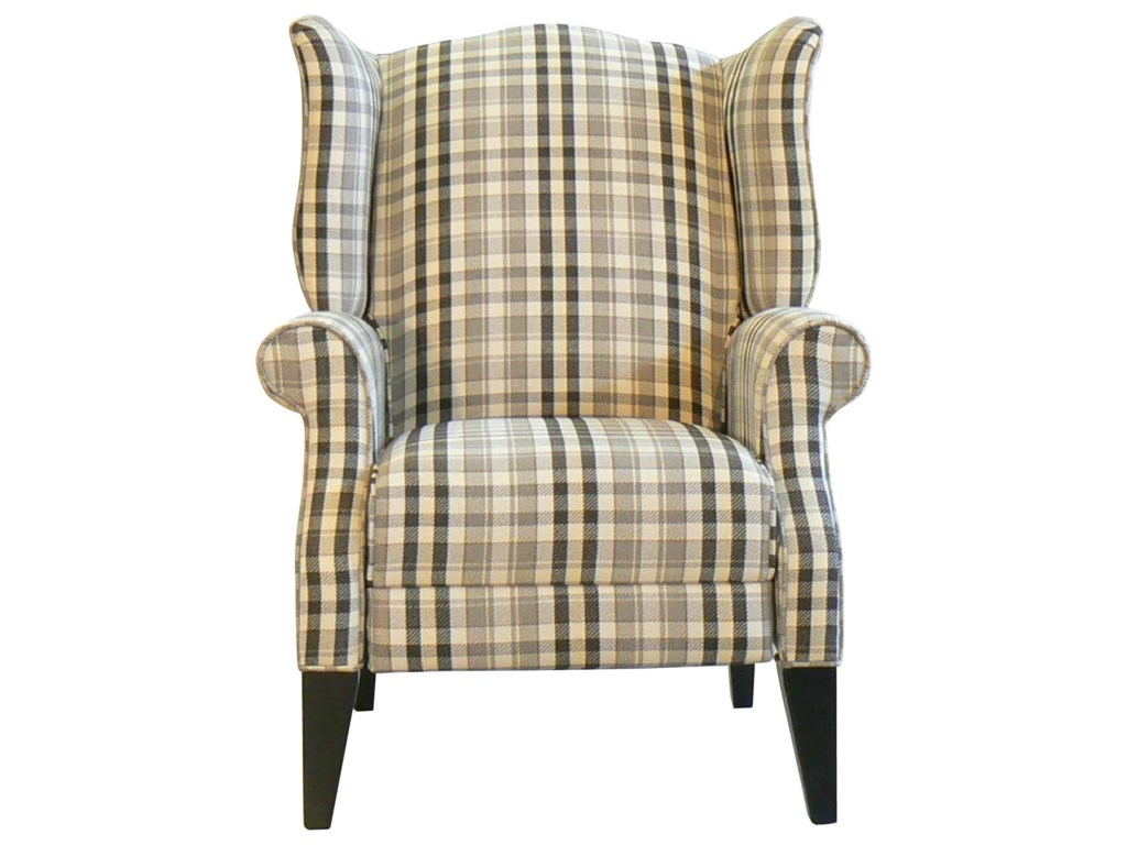 Taelor Designs AshbyPush Back Wing Chair