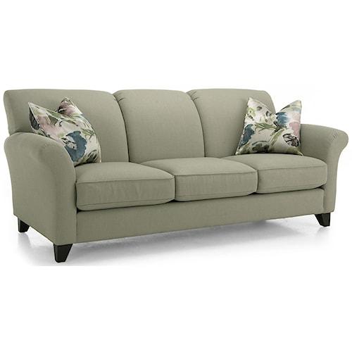 Decor-Rest 2263 Contemporary Stationary Sofa
