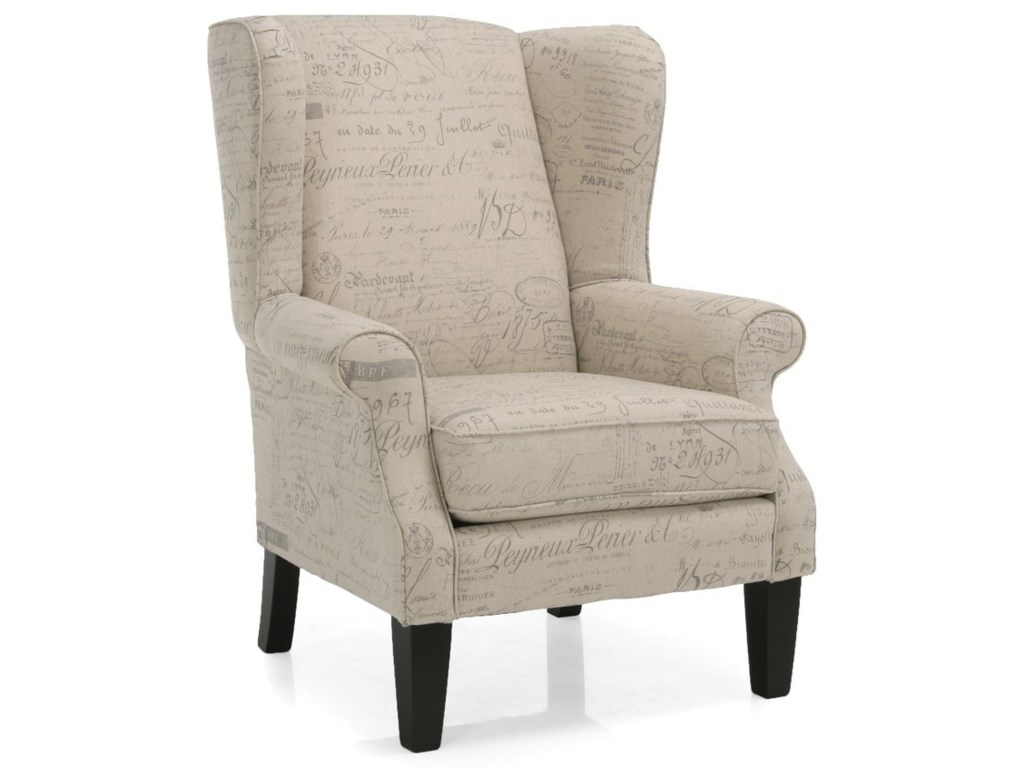 Taelor Designs 2290Upholstered Wing Chair