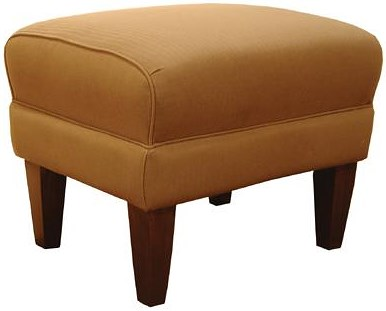 Decor-Rest 2290 Ottoman with Exposed Wood Legs