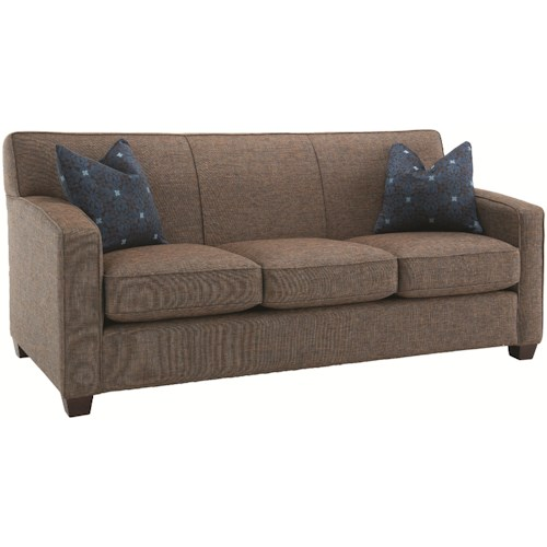 Decor-Rest 2299 Contemporary Sofa with Simple Design Style
