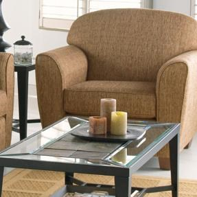 Taelor Designs 2317Upholstered Contemporary Chair