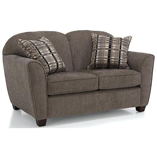 Decor-Rest 2317 Love Seat w/ Square Wood Legs