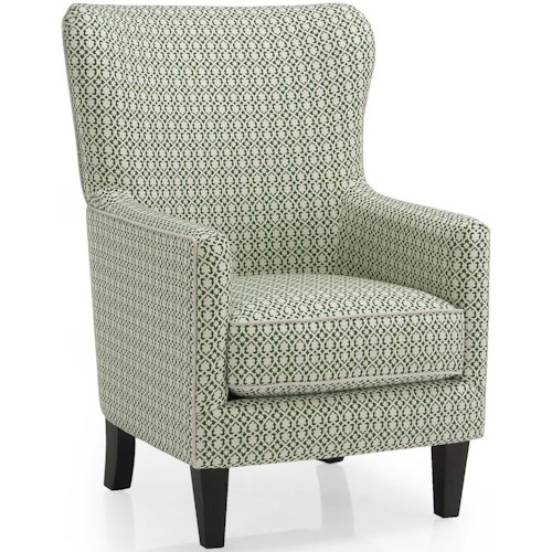 Decor-Rest 2379 Contemporary Wing Back Chair