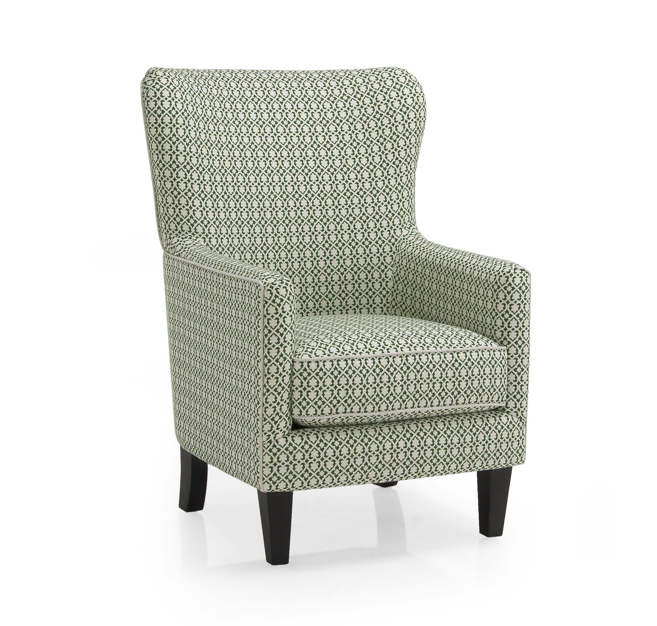 Decor Rest 2379 Contemporary Wing Back Chair