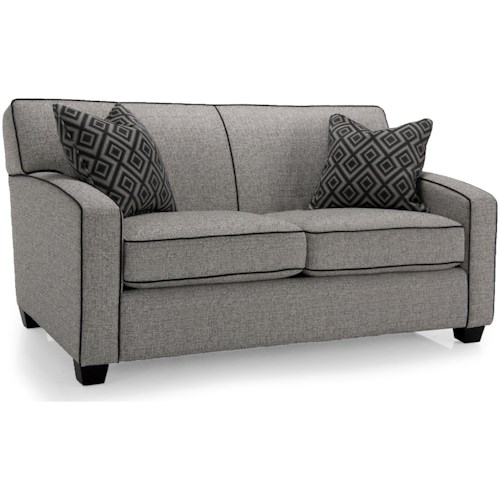 Decor-Rest 2401 Loveseat with Accent Pillows