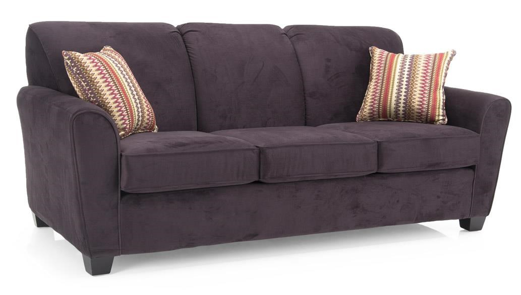 Decor Rest 2404 Transitional Sofa With Flared Arms