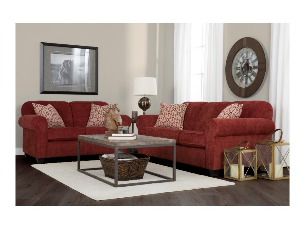 Decor-Rest 2455Contemporary Sofa