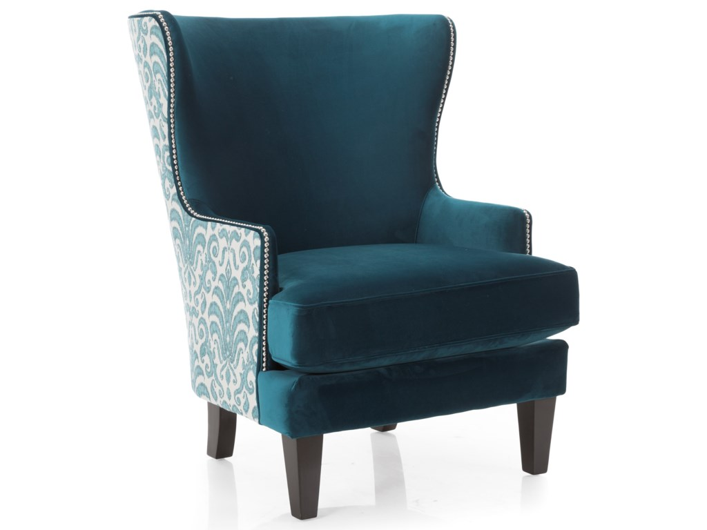 Taelor Designs 2492Wing Back Chair