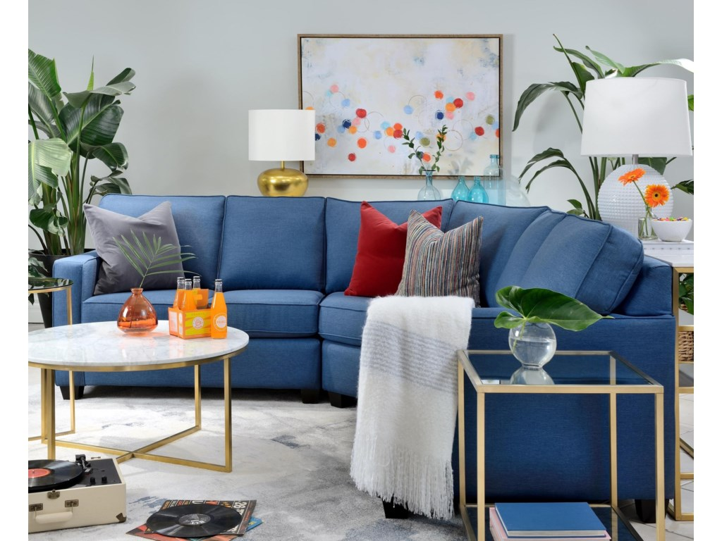 Taelor Designs BeverleySectional Sofa