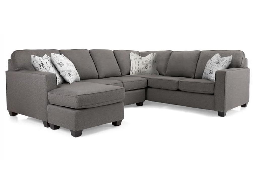 Decor-Rest 2541Sectional Sofa
