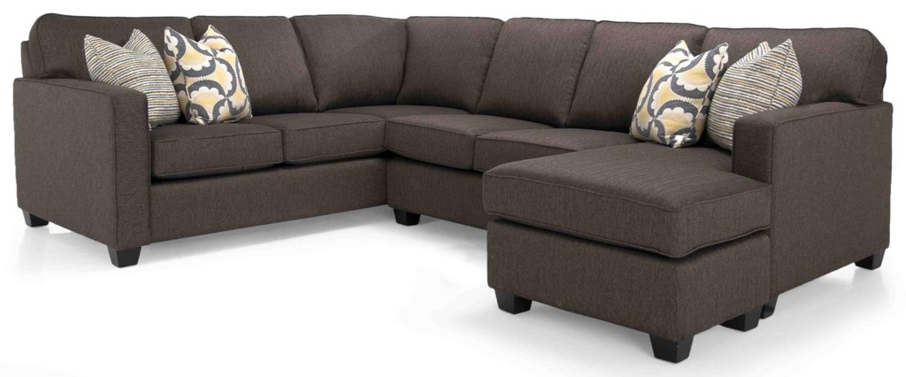 Taelor Designs 2541 Sectional Canadian Made Sectional Bennett S