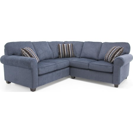Transitional Sectional Sofa