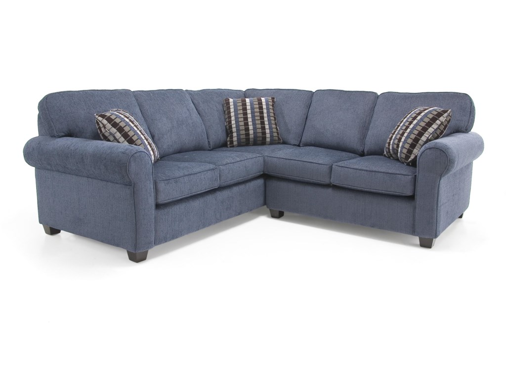 Decor-Rest 2576Transitional Sectional Sofa
