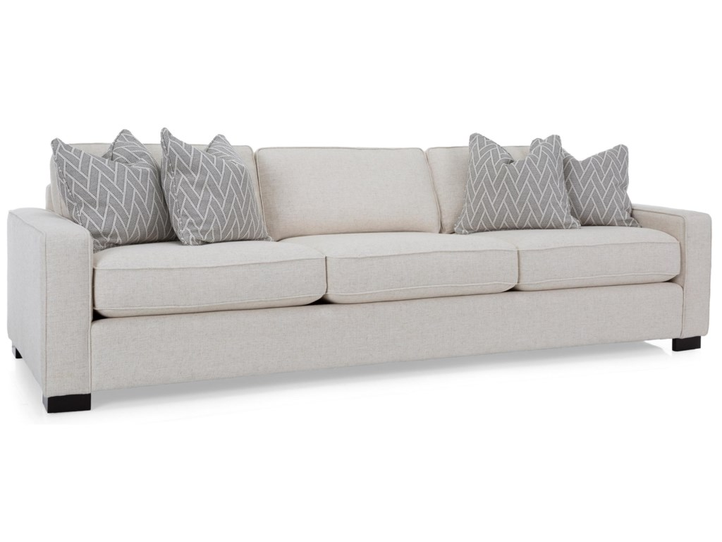 Taelor Designs 2591 Contemporary 102 Sofa With Track Arms