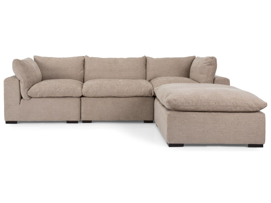 Decor Rest 2660sectional Sofa