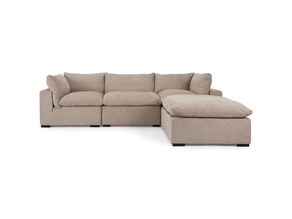 Taelor Designs 2660Sectional Sofa