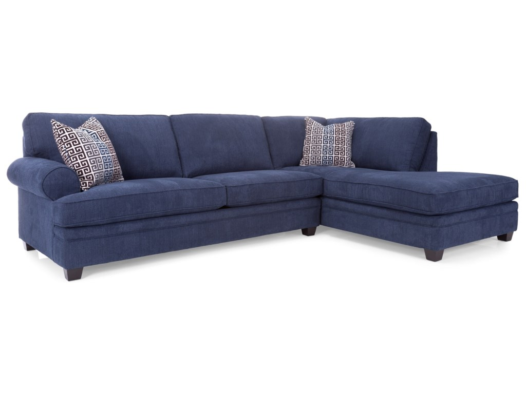 Taelor Designs 2695Sofa with Chaise