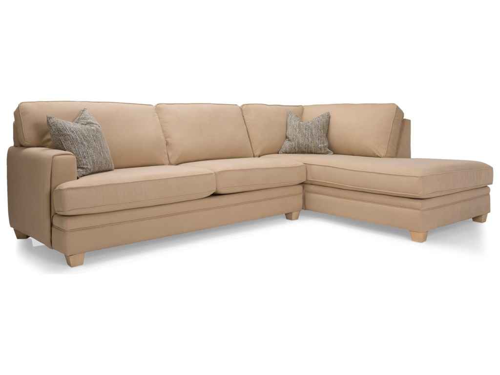 Decor-Rest 2697Sectional Sofa
