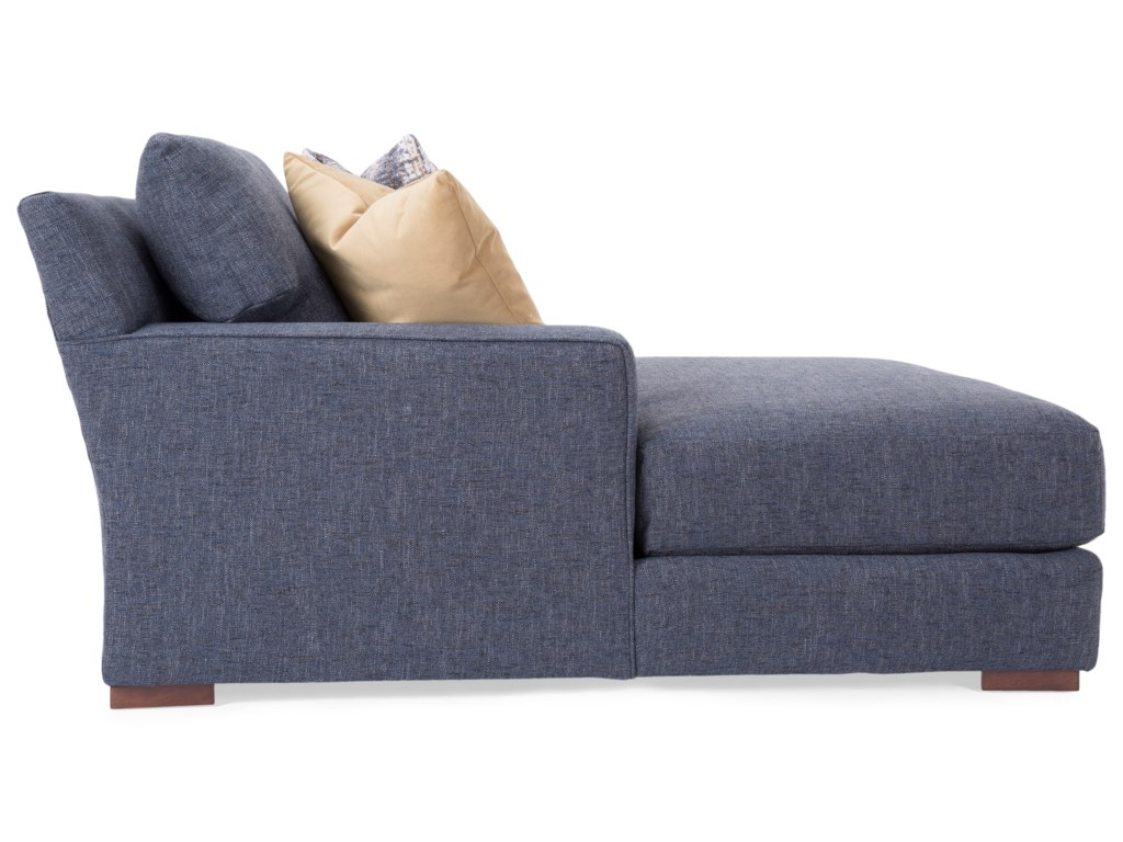 Taelor Designs 27024-Seat Sectional Sofa with 2 Chaise Lounges