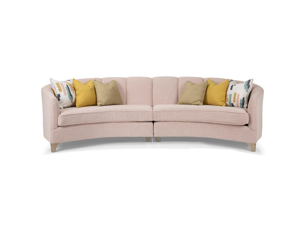 Decor-Rest 27842 Piece Sectional Sofa