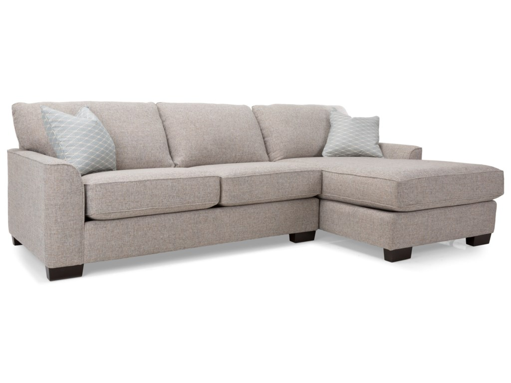 Decor-Rest 2786Chaise Sofa Sectional