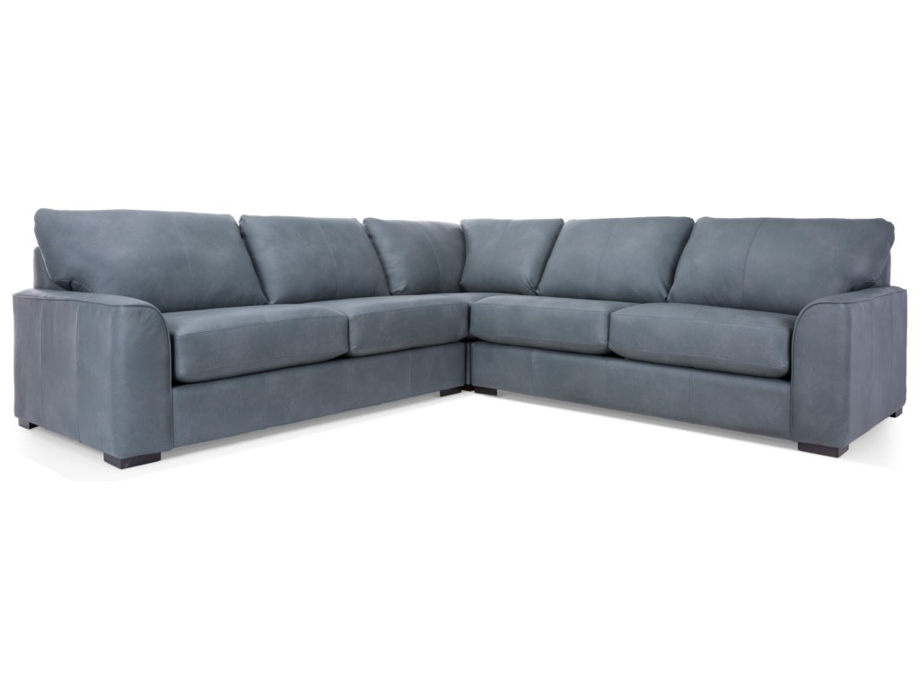Decor-Rest 27863-Piece Sectional Sofa