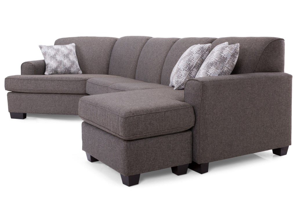 Decor-Rest 2805Sectional with Chaise