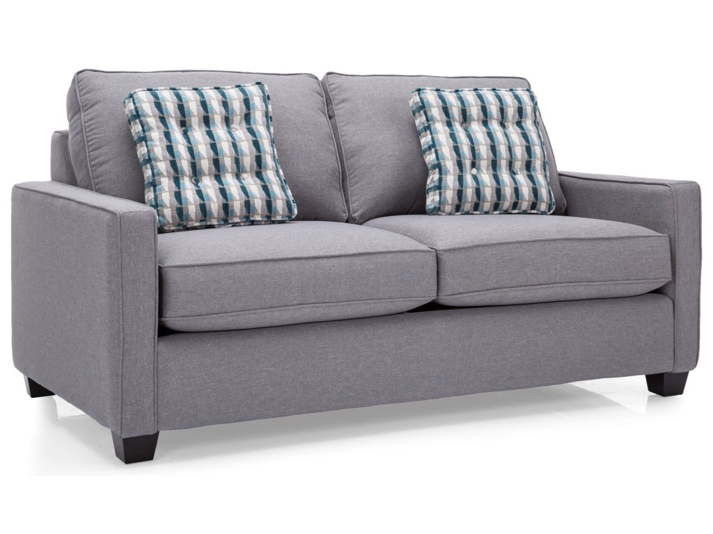 london loveseat newell front product blue furniture sofabed