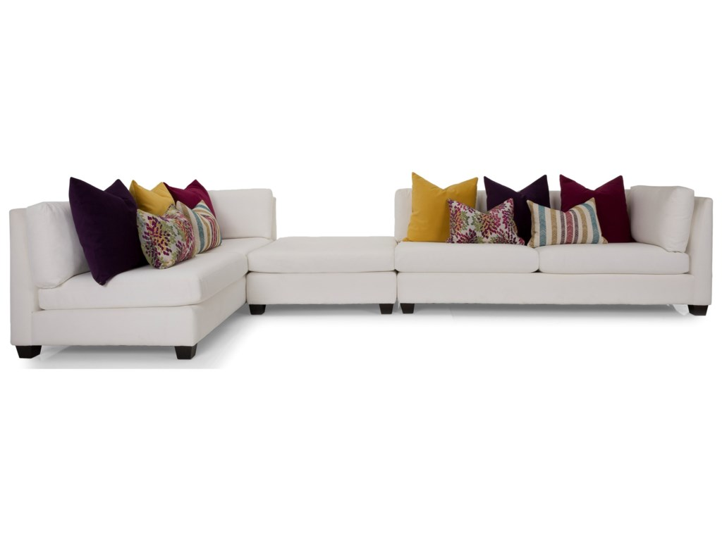 Taelor Designs 2875Sectional Sofa