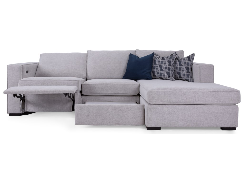 Taelor Designs 2900Reclining Sofa with Chaise
