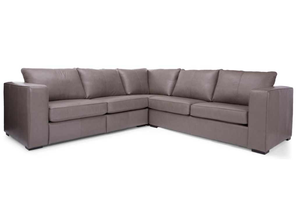 Decor-Rest 2900L-Shape Power Reclining Sectional