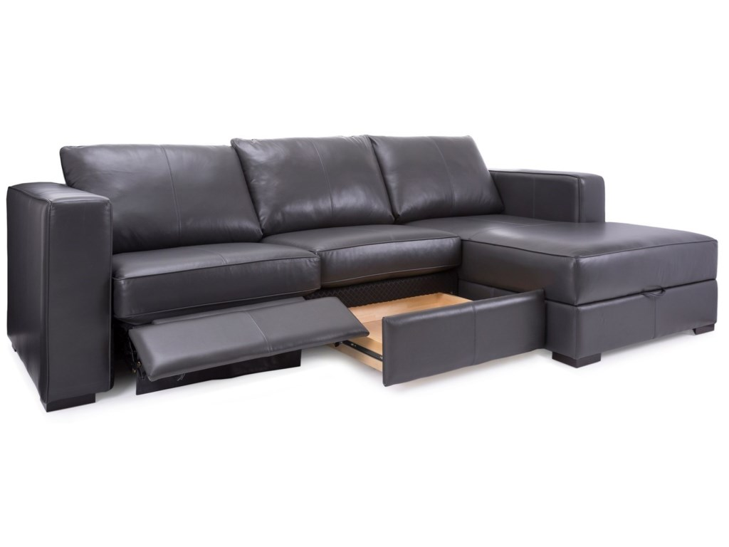 Decor-Rest 2900Reclining Sofa with Chaise