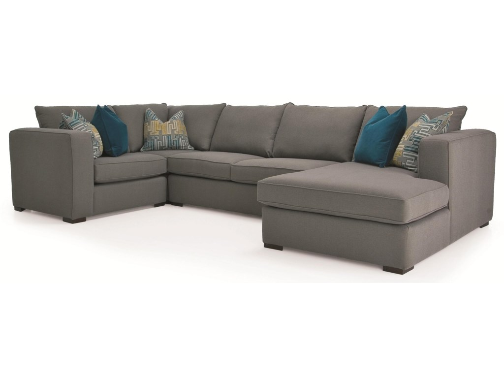 Taelor Designs Braden4 pc. Sectional