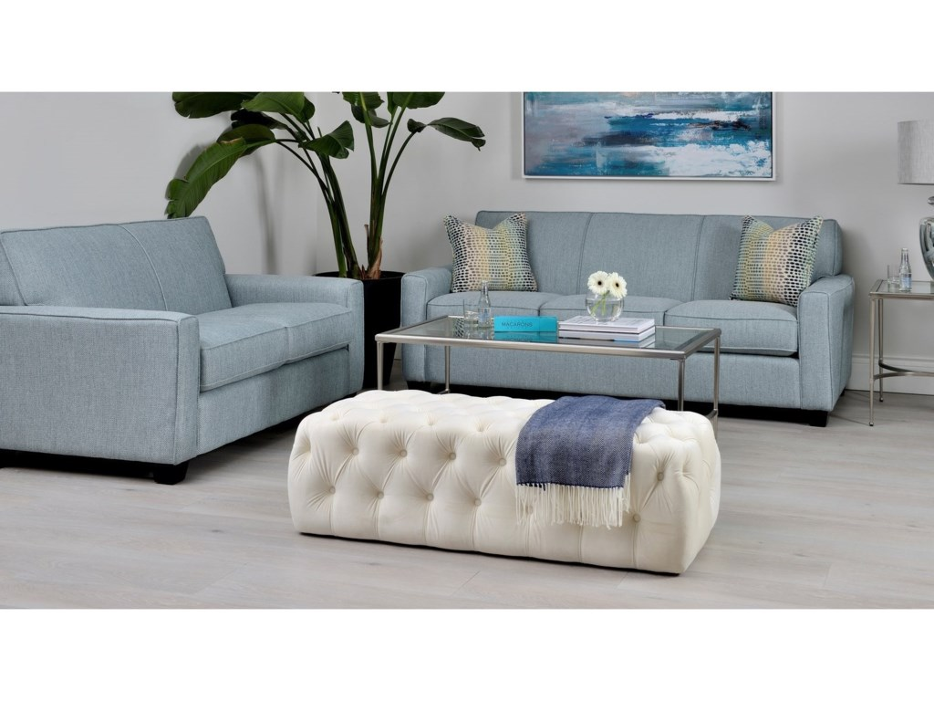 Taelor Designs 2989Loveseat