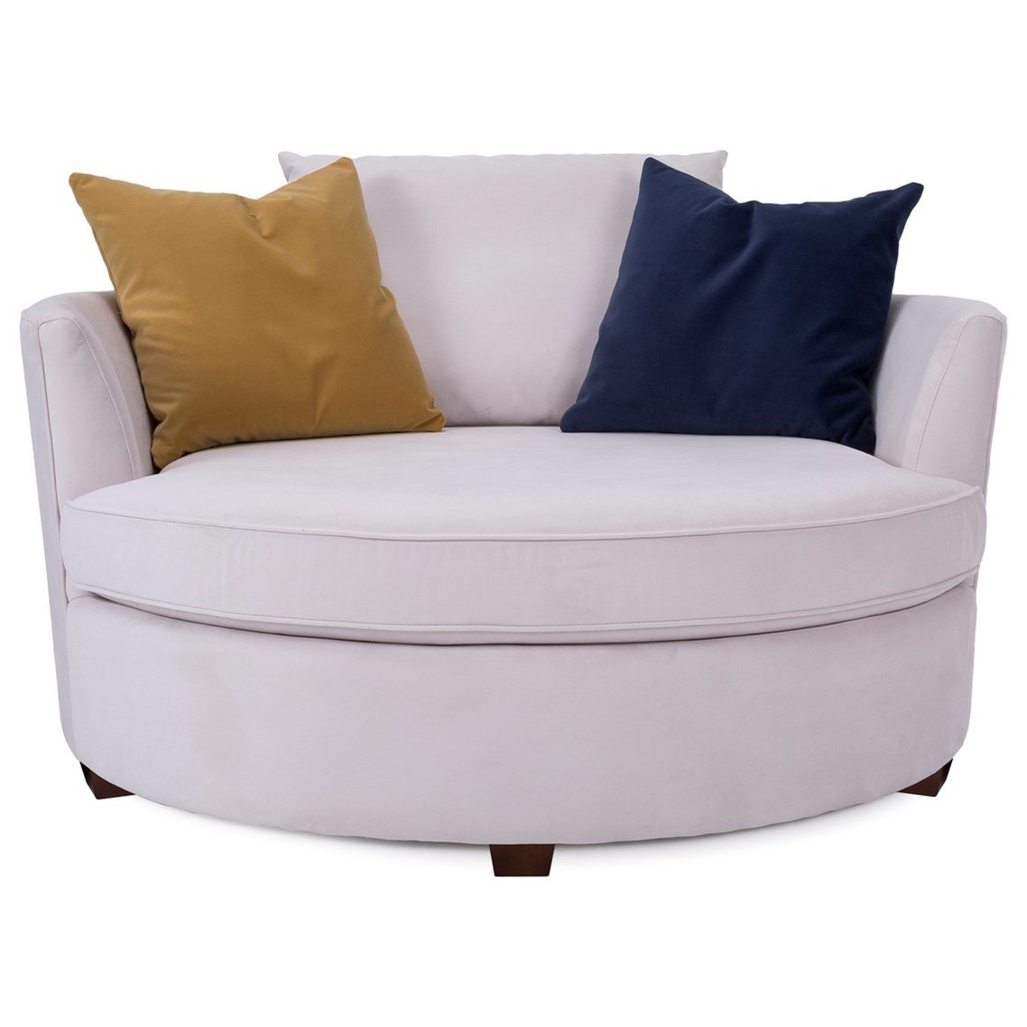 """Contemporary 59"""" Accent Chair"""