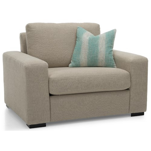 Decor-Rest 2J-26 Upholstered Chair and 1/2