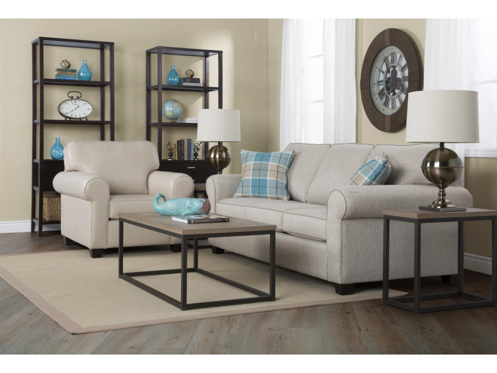 Decor-Rest 2179Stationary Living Room Group