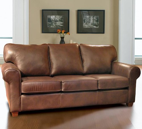 Decor-Rest 3179 Upholstered Sofa with Rolled Arms