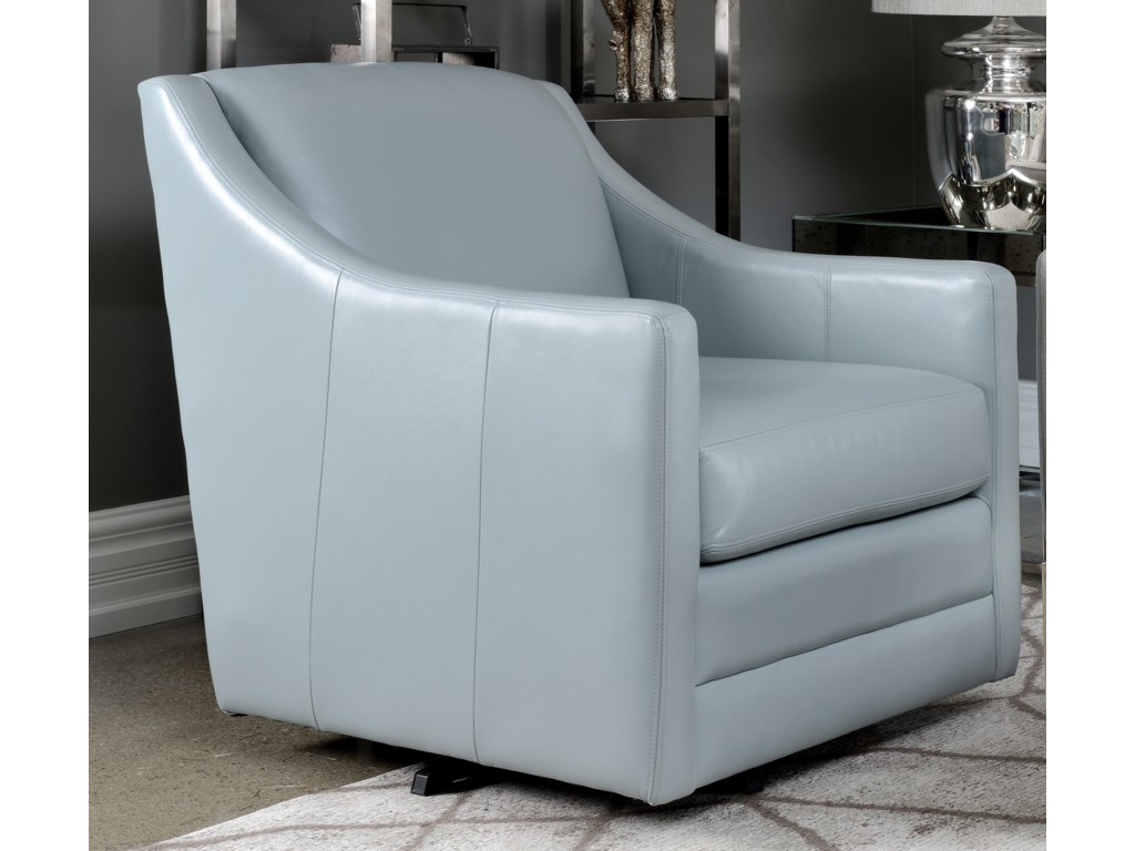 Taelor Designs 3443 Leather Swivel Chair3443 Leather Swivel Chair