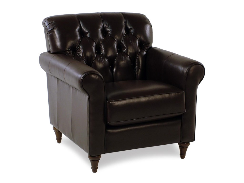 Decor-Rest MaxwellTufted Leather Chair