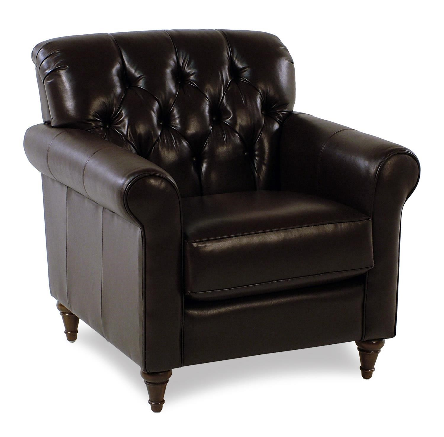 Decor Rest MaxwellTufted Leather Chair ...