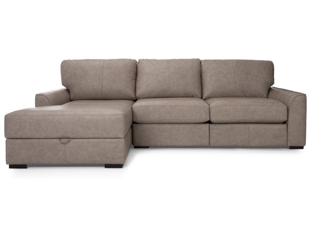 Taelor Designs MikaLeather Sectional
