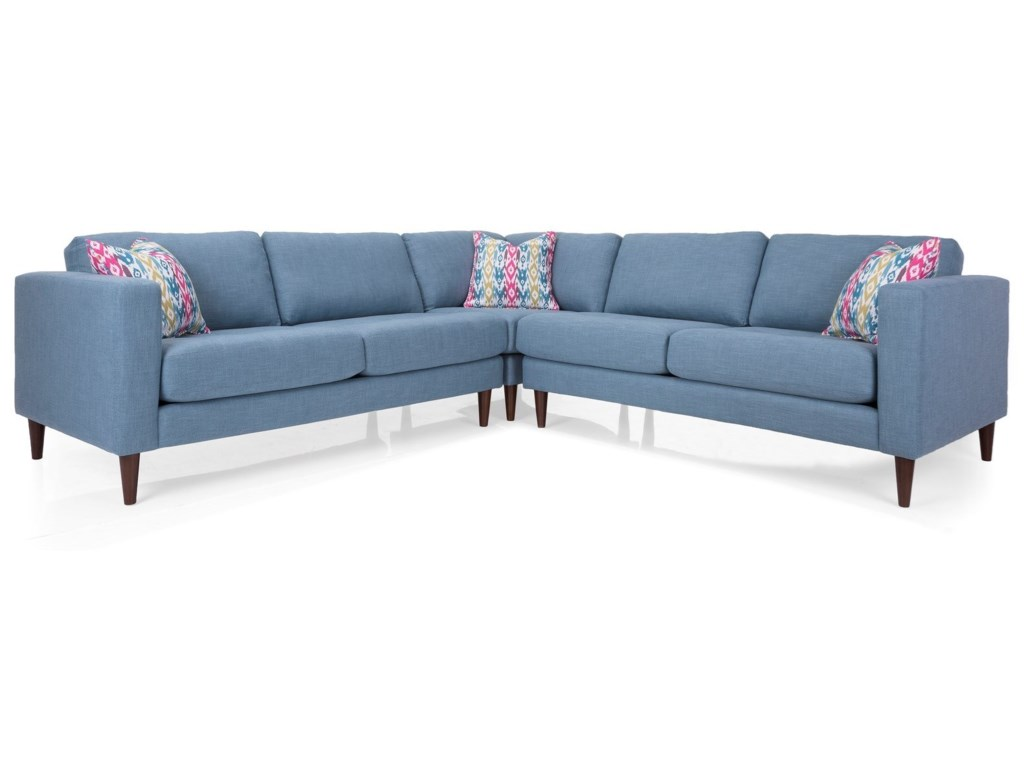 Decor-Rest 3795Sectional Sofa