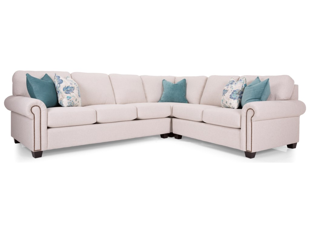 Decor-Rest Alessandra ConnectionsSectional Sofa