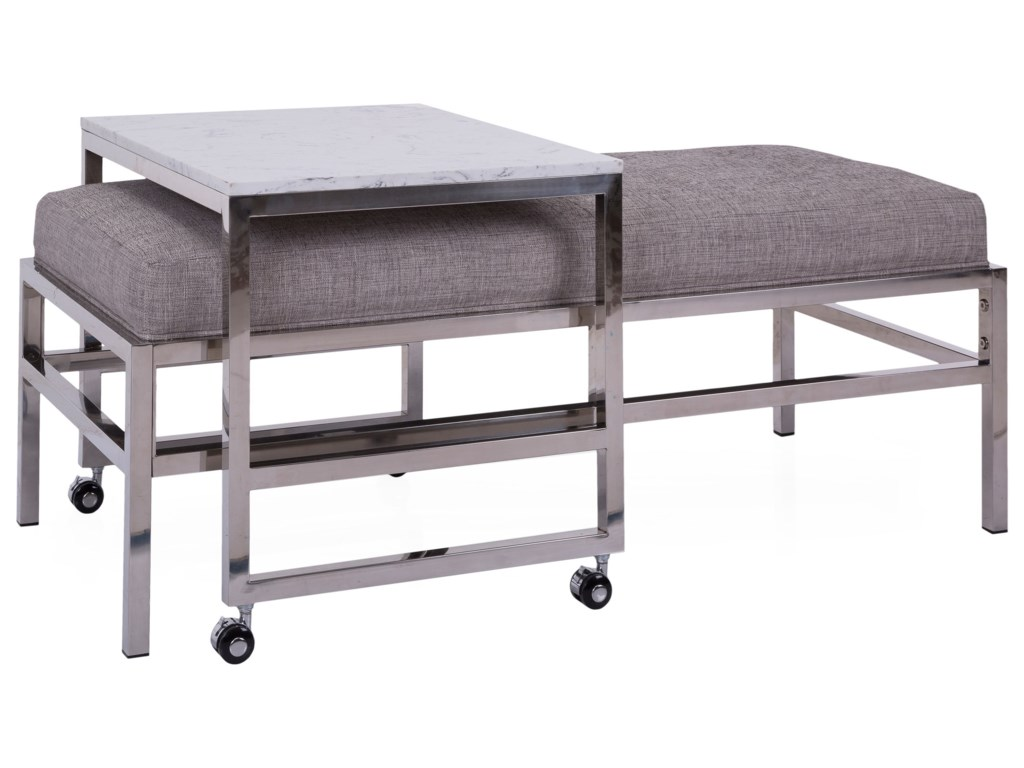 Taelor Designs 6842Ottoman Bench