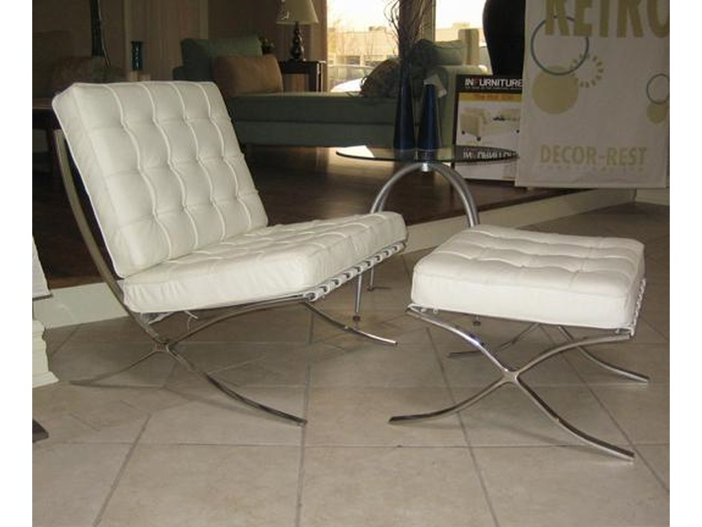 Decor-Rest Accent on Home ChairsBarcelona Chair and Ottoman